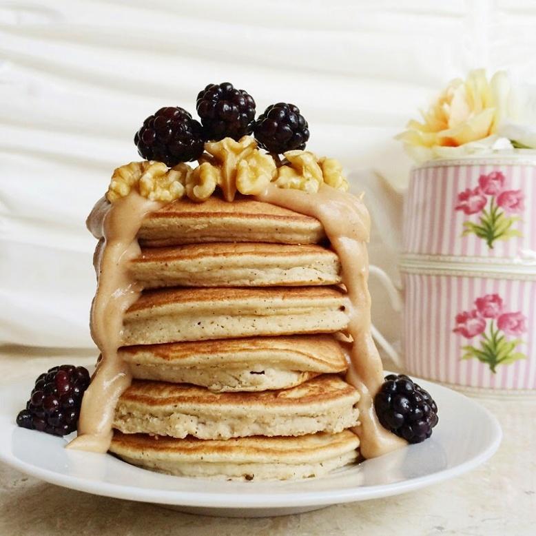 Gingerbread Lucuma Grain Free Pancakes