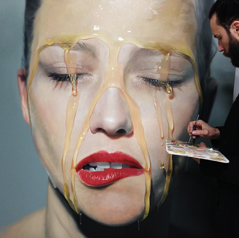 Artist Roberto Bernardi Creates Incredibly Realistic: Mike Dargas: Bringing Art To Life