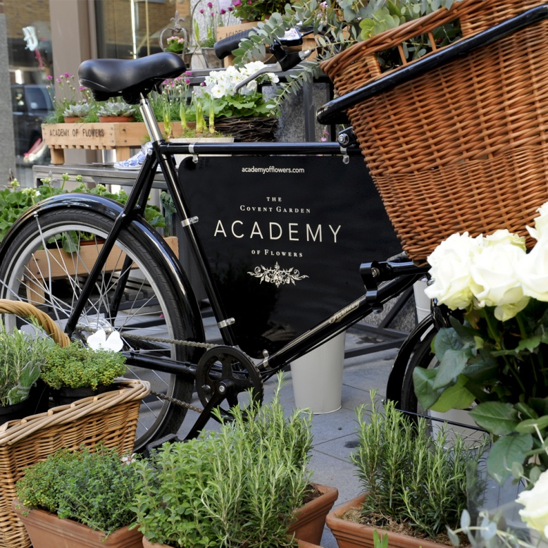 The Covent Garden Academy of Flowers - St Martin's Courtyard