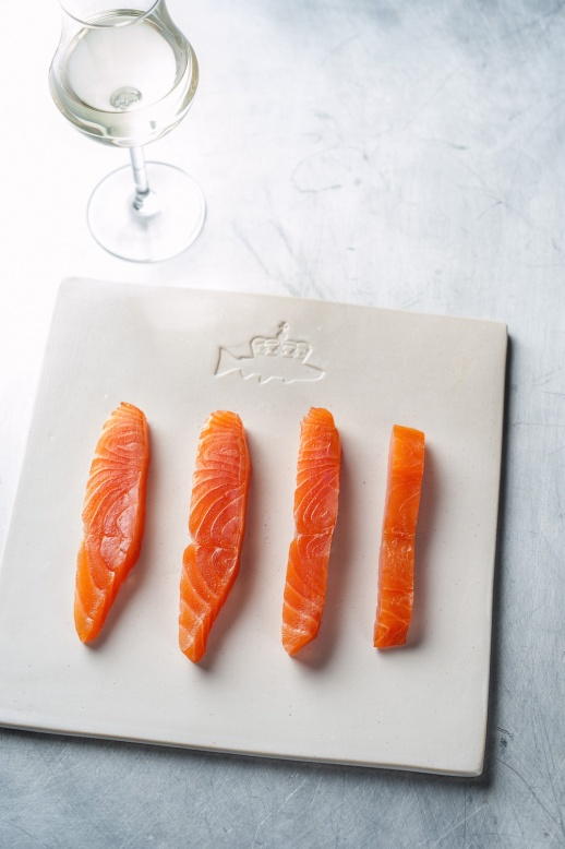 The Grill at The Dorchester - Hansen & Lydersen smoked salmon