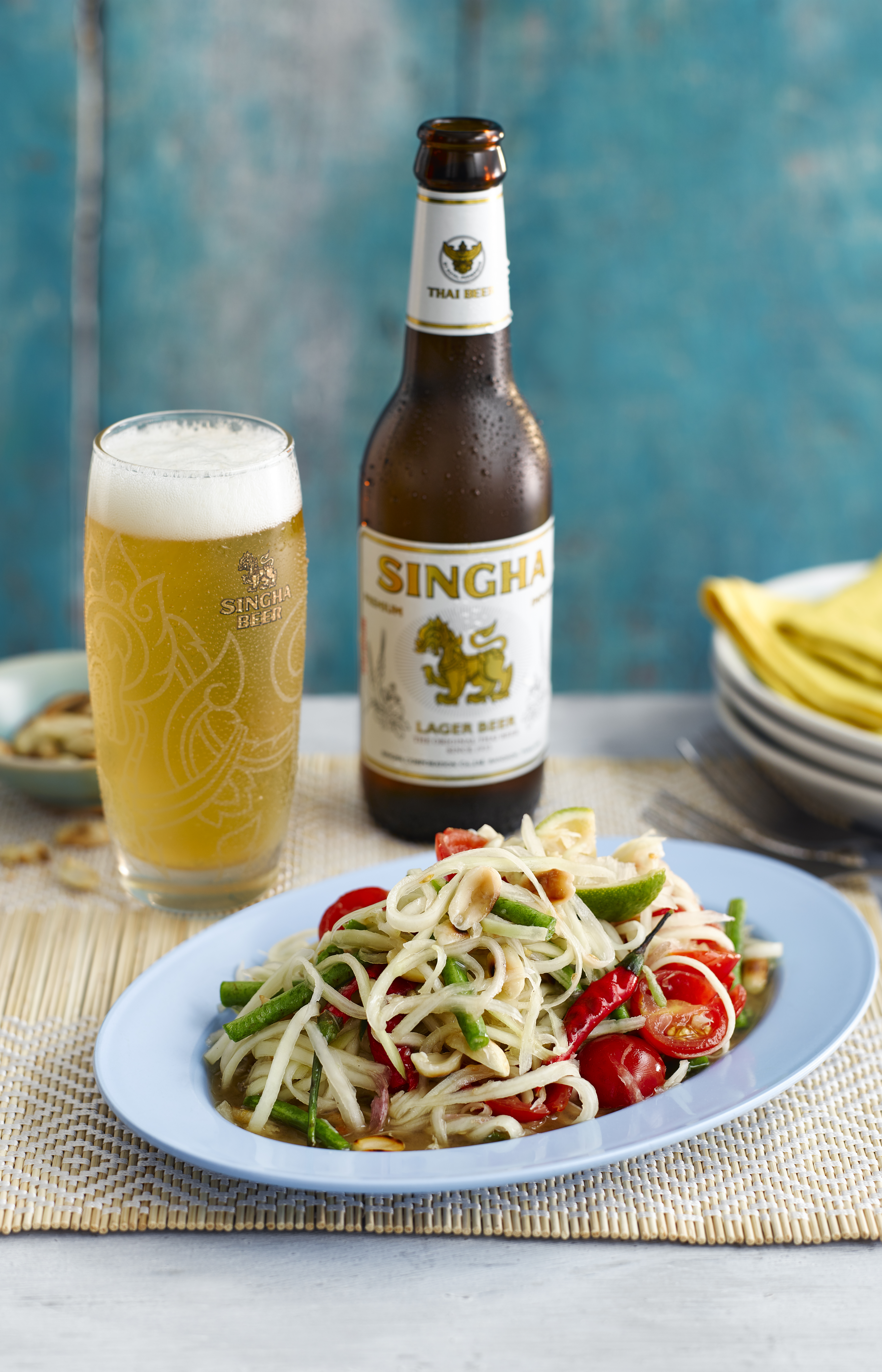 Thai Food Recipe Green Papaya Salad
