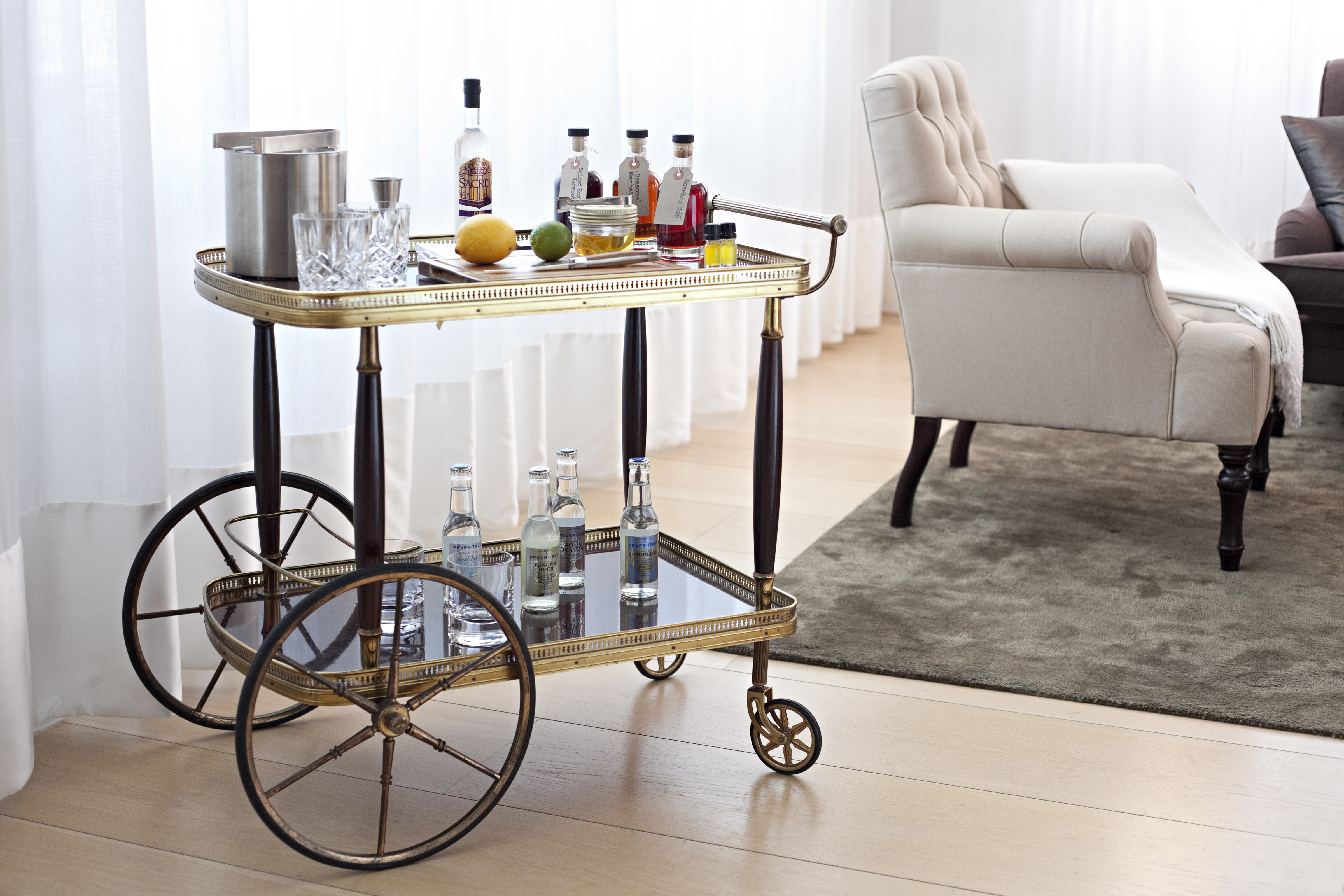 The London EDITION - Drink Trolley