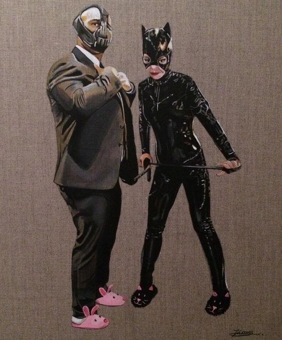 Zoe Moss – Bane & Catwoman