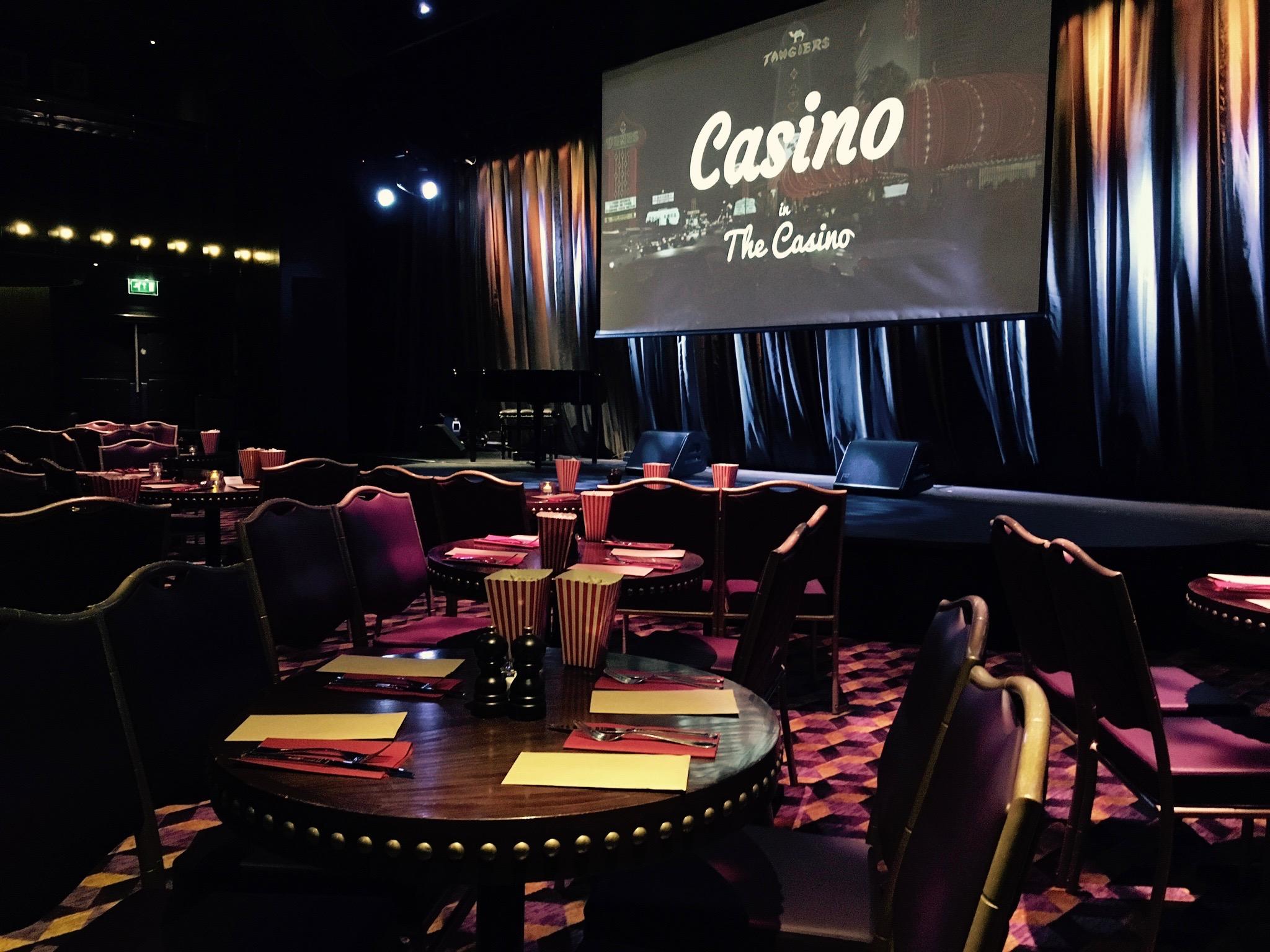 Casino Table Screen