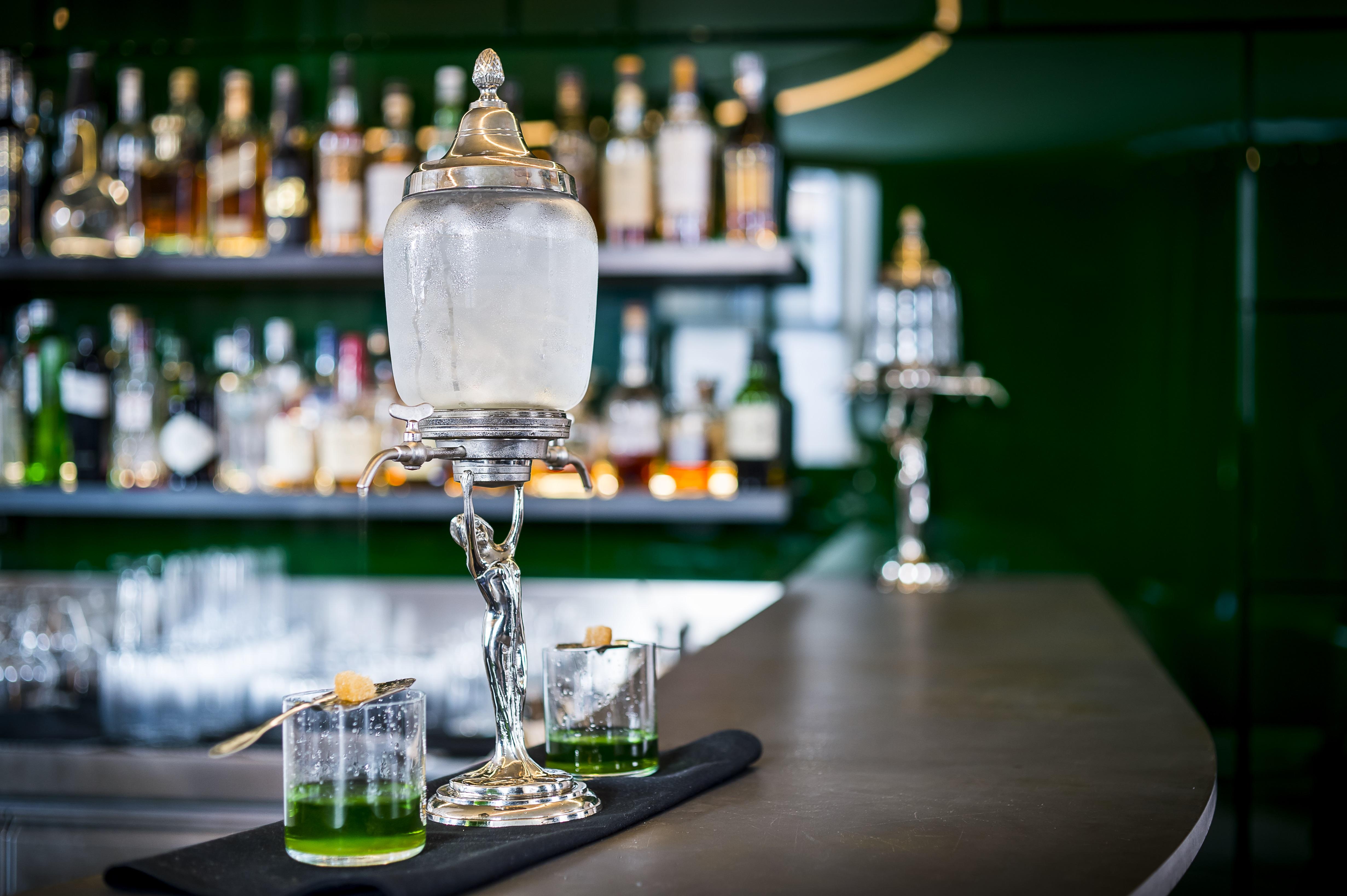 Hotel Cafe Royal - Green Bar - Absinthe