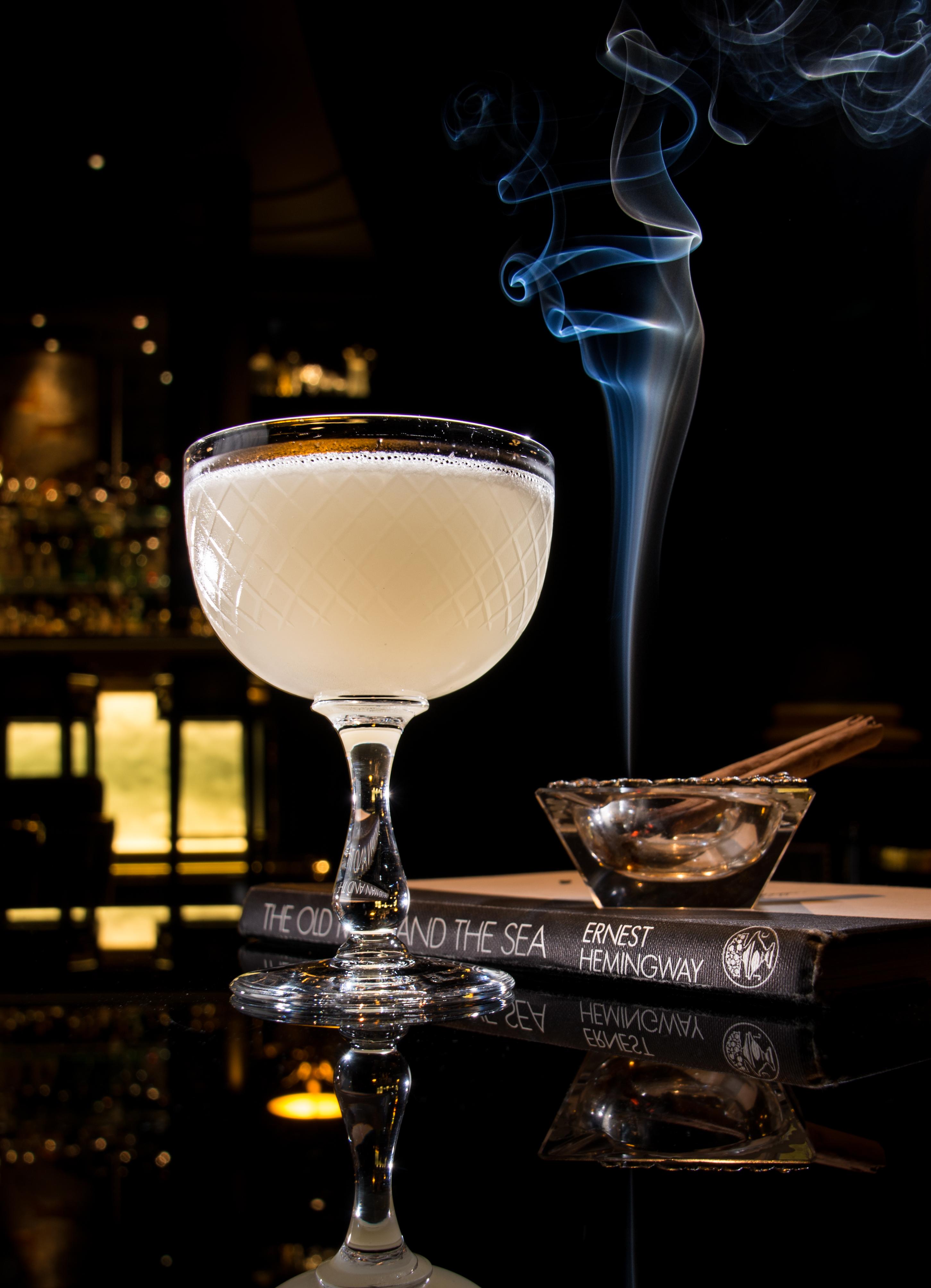 Ernest Hemingway Character Cocktail Beaufort Bar Lewis Wilkinson