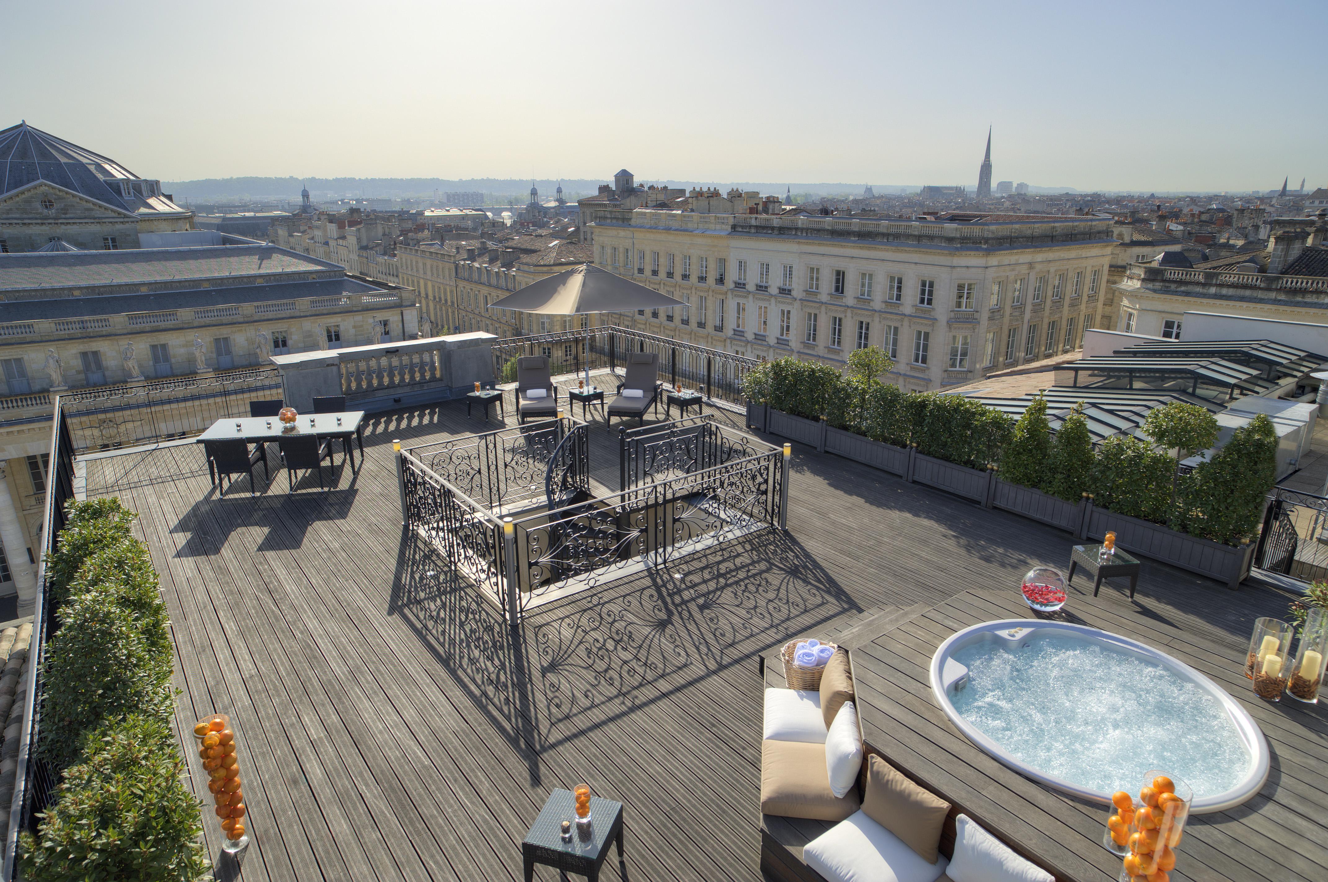 Suite Royale - Terrasse