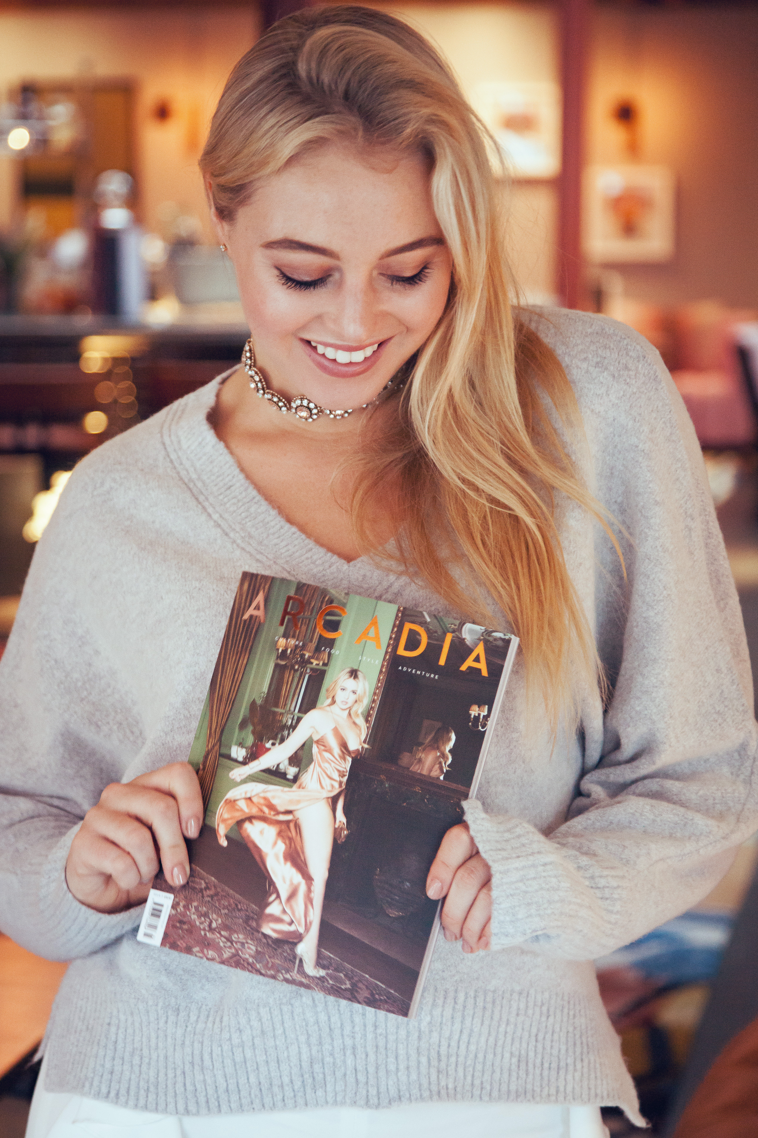 Arcadia Magazine Launch Dinner with Iskra Lawrence