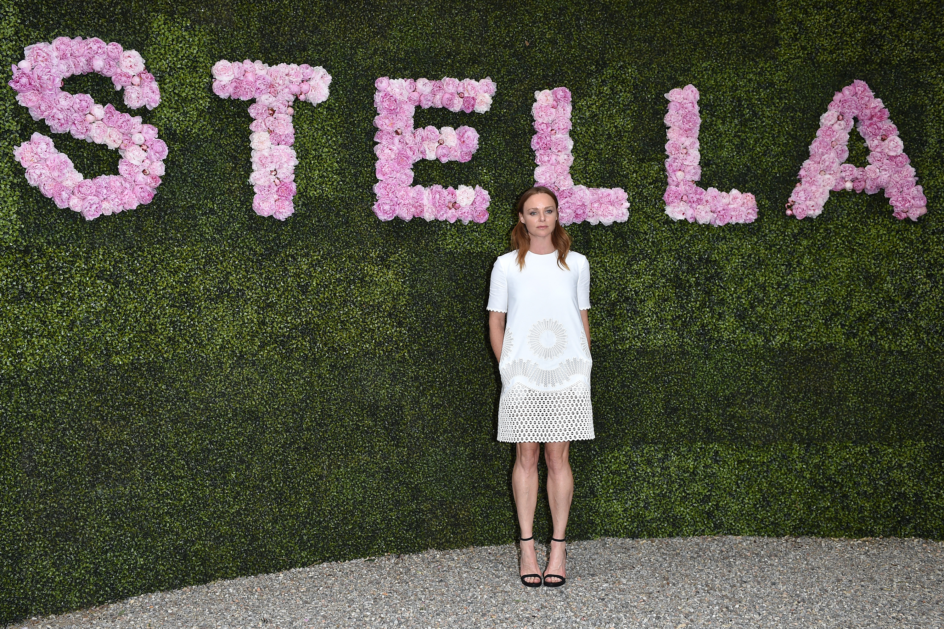 MILAN, ITALY - JUNE 23: Stella McCartney attends the Stella McCartney Garden Party during the Milan Fashion Week Menswear Spring/Summer 2015 on June 23, 2014 in Milan, Italy. (Photo by Jacopo Raule/Getty Images)