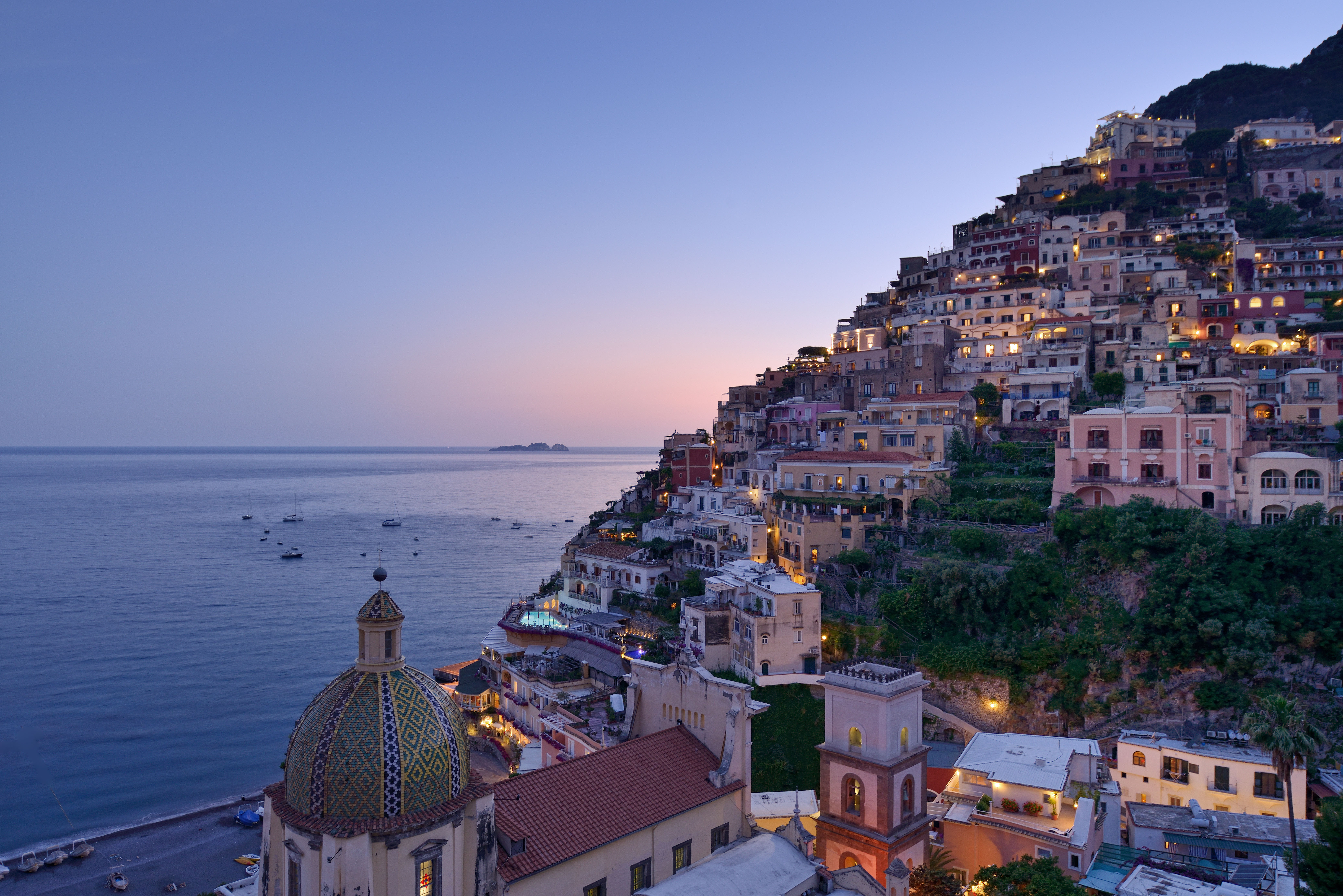 A Tale of Two Italies: Positano