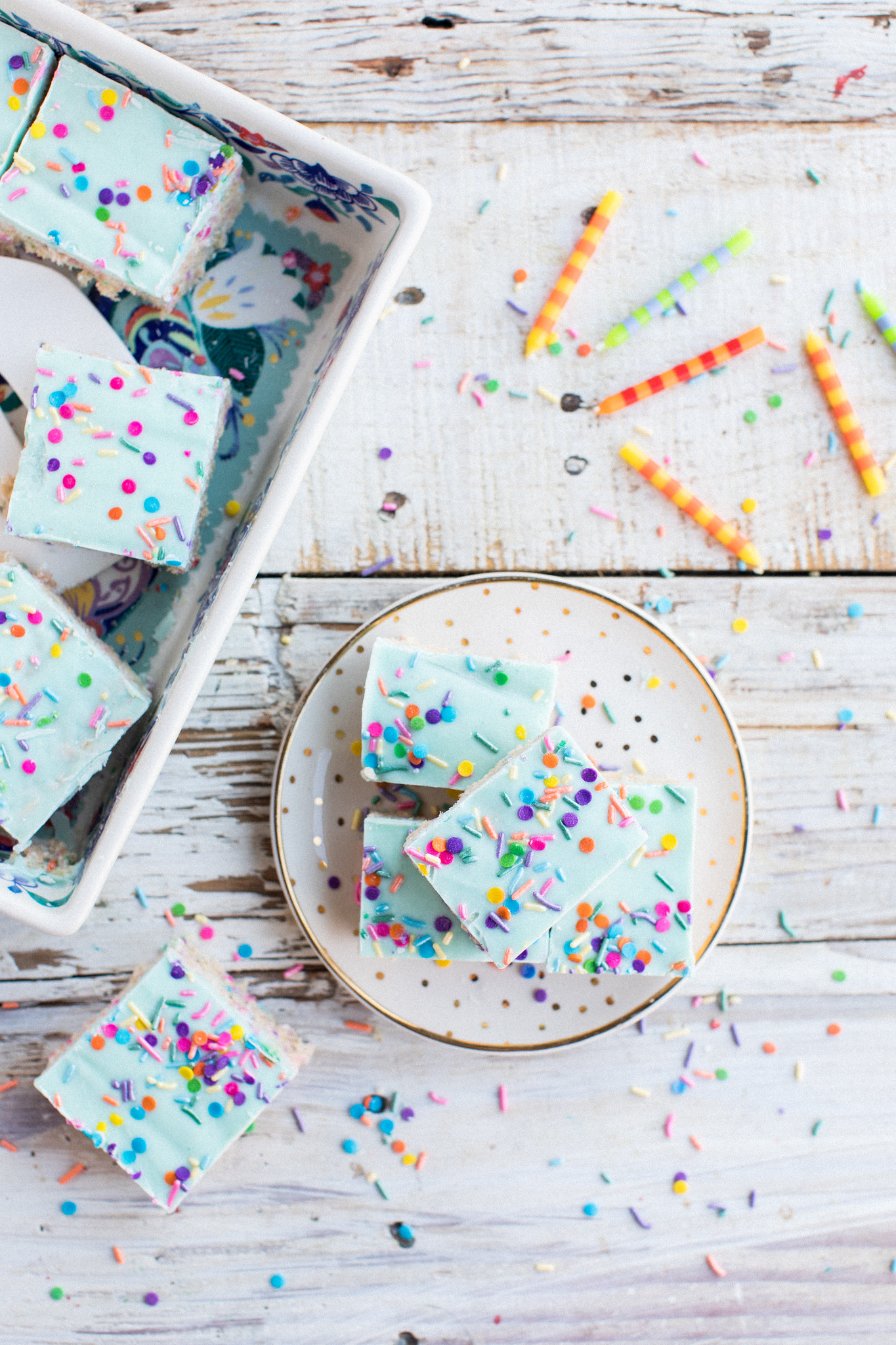 Unicorn Rice Krispie Treats