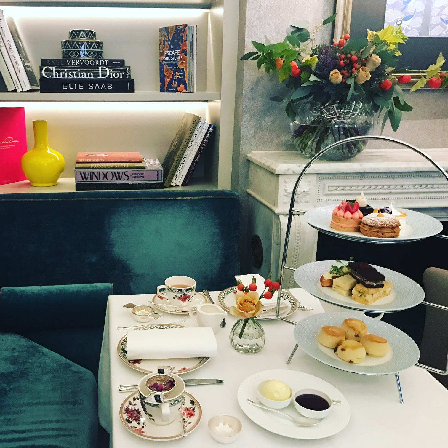 Afternoon Tea at Fleming's, Mayfair