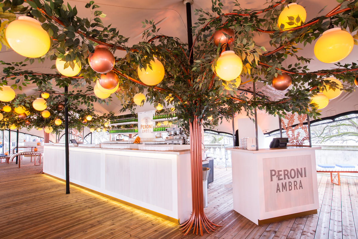 An Afternoon At... The Peroni Ambra Terrace, Somerset House 2