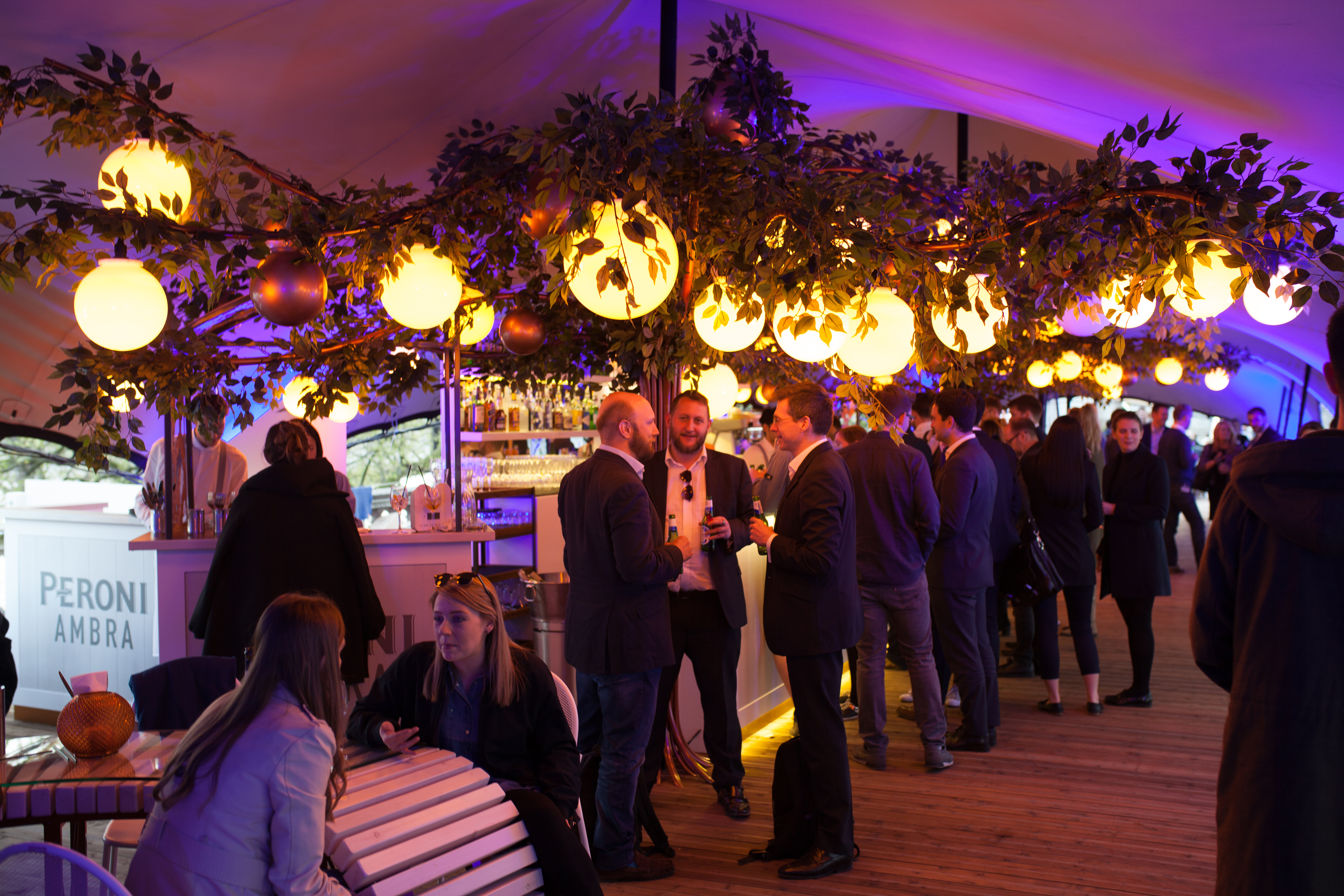 An Afternoon At... The Peroni Ambra Terrace, Somerset House 6
