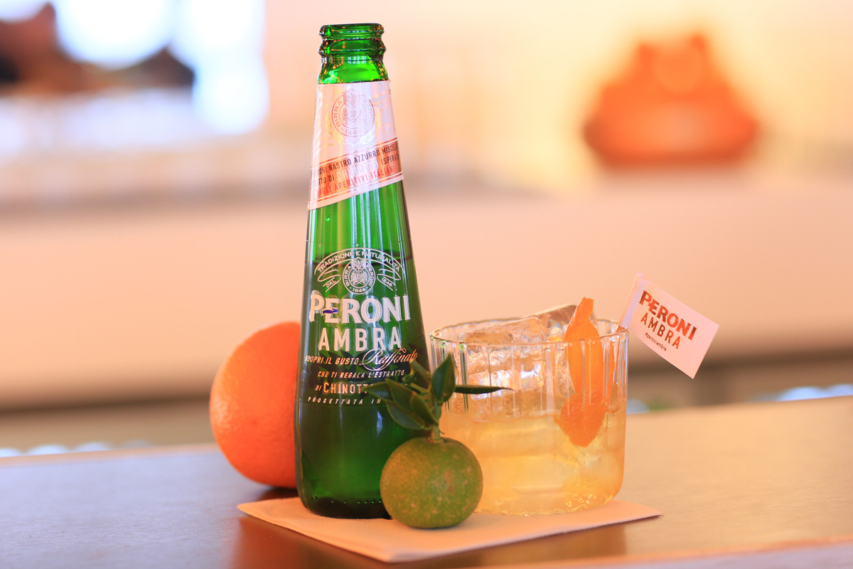 An Afternoon At... The Peroni Ambra Terrace, Somerset House