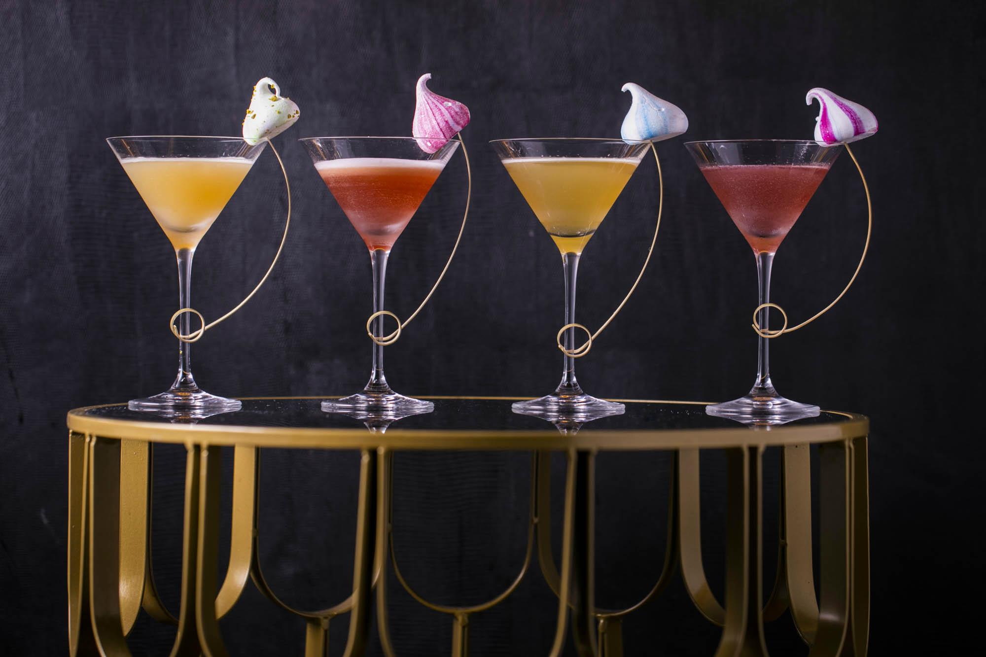 Martini's and Meringues at Qualingo's, London