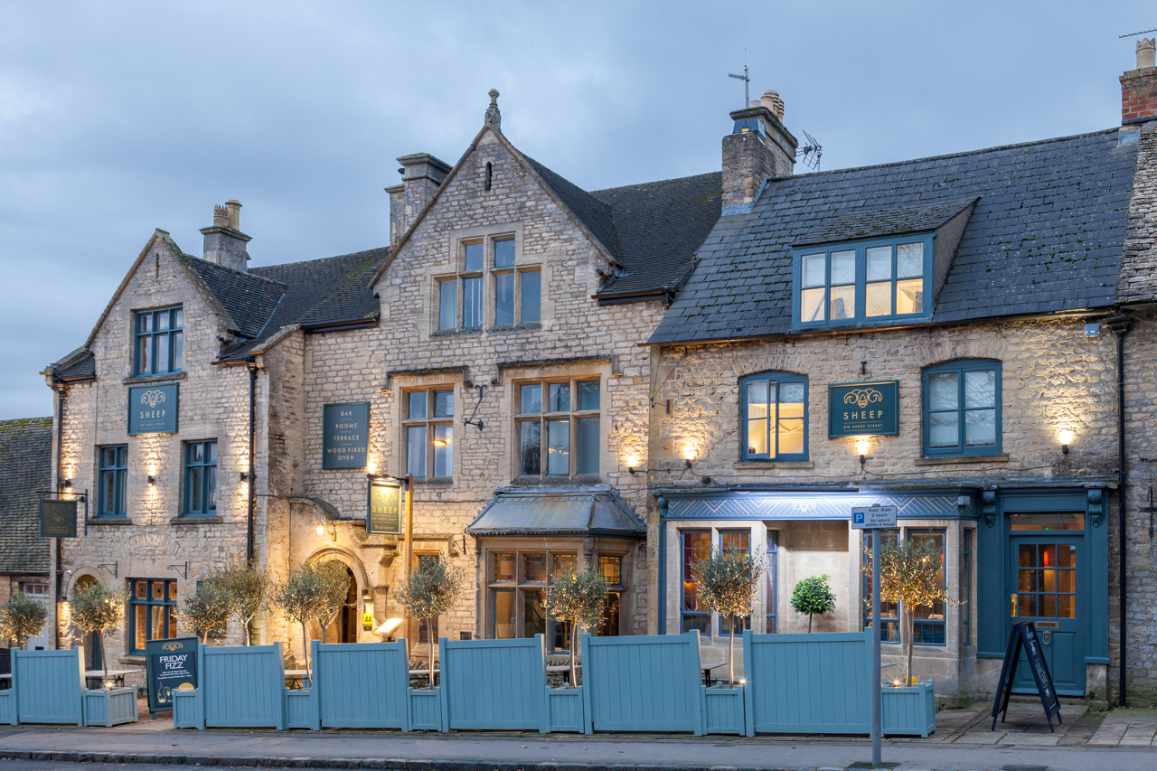 The Sheep on Sheep Street, Stow-on-the-Wold