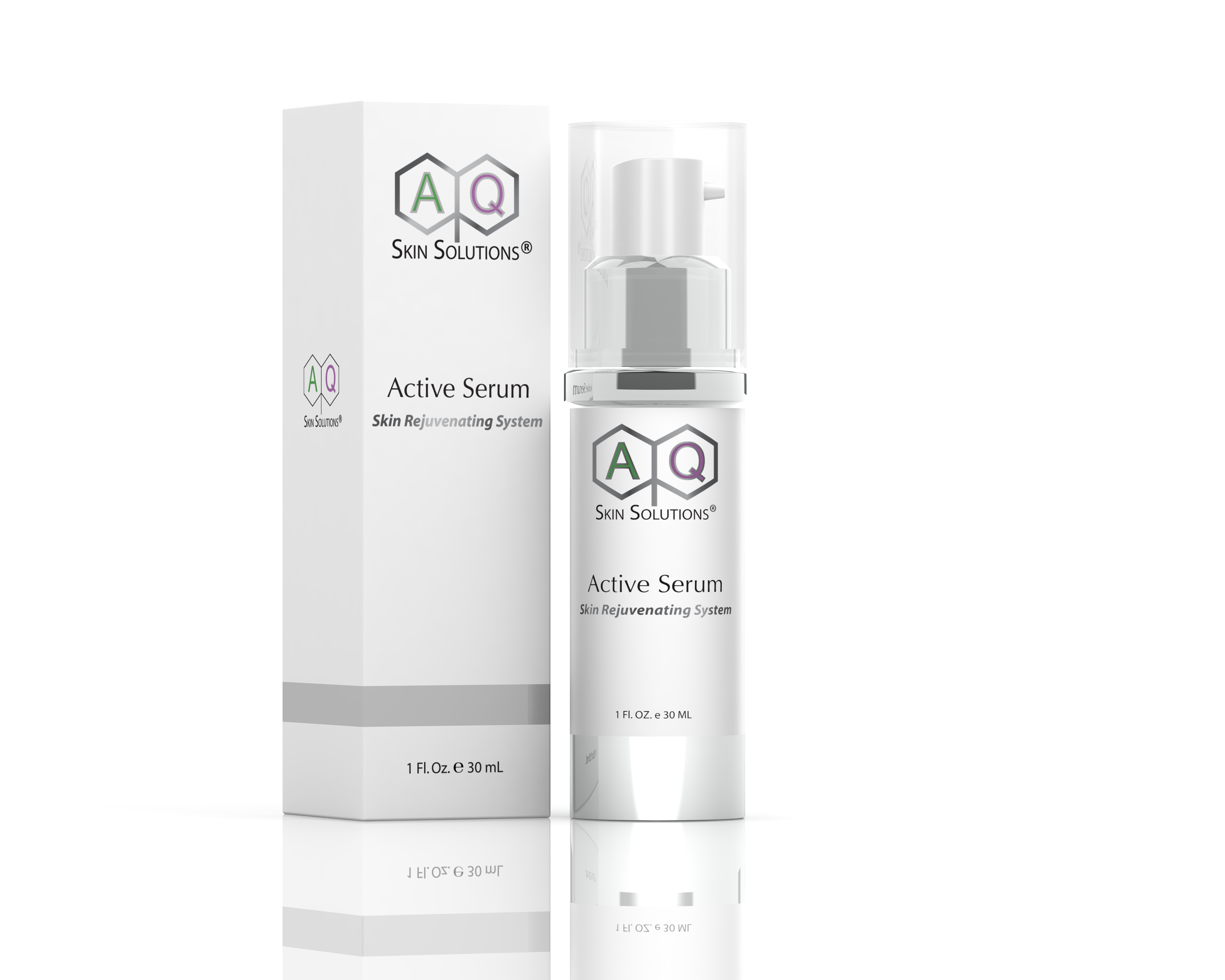Derma Stamp Facial with AQ Skin Solutions Serum
