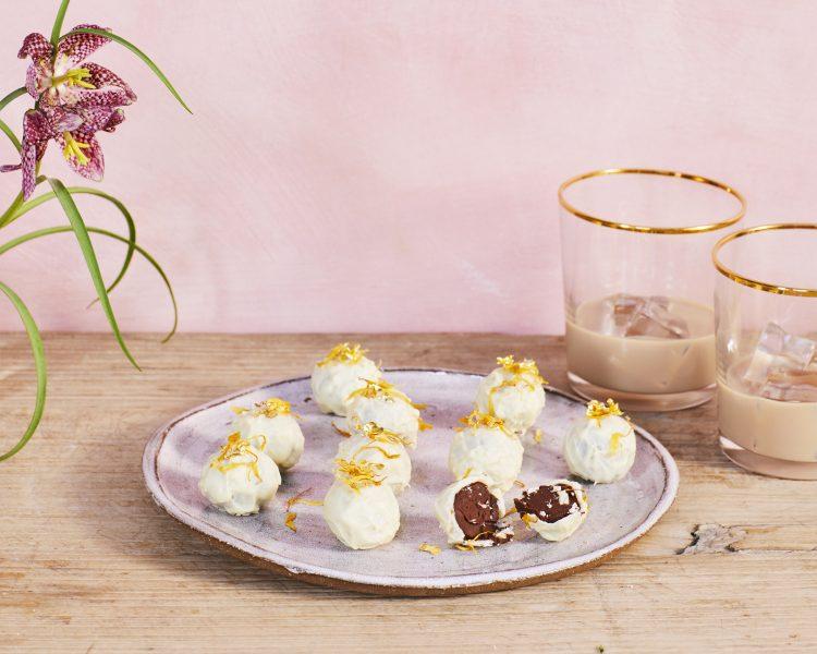 Lucy Bennett's Baileys Ganache Truffles