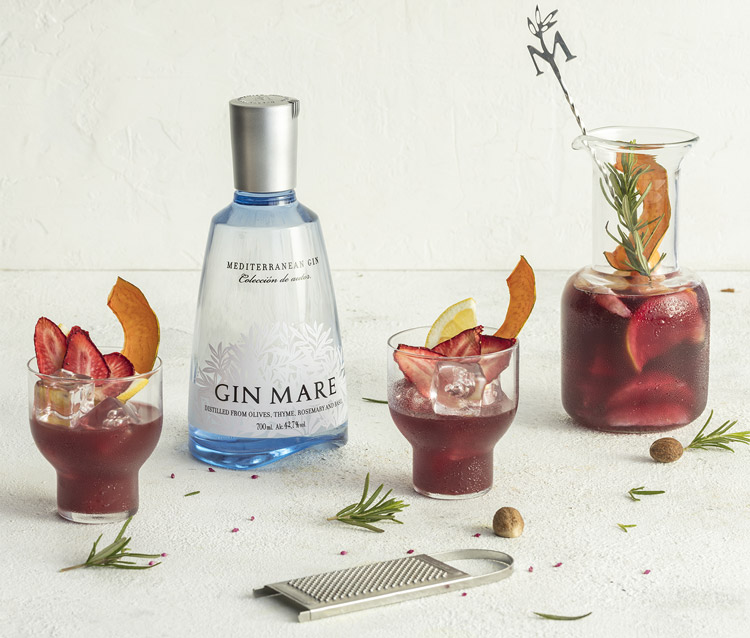 Celebrate World Gin Day with Gin Mare's Sangria Nostrum