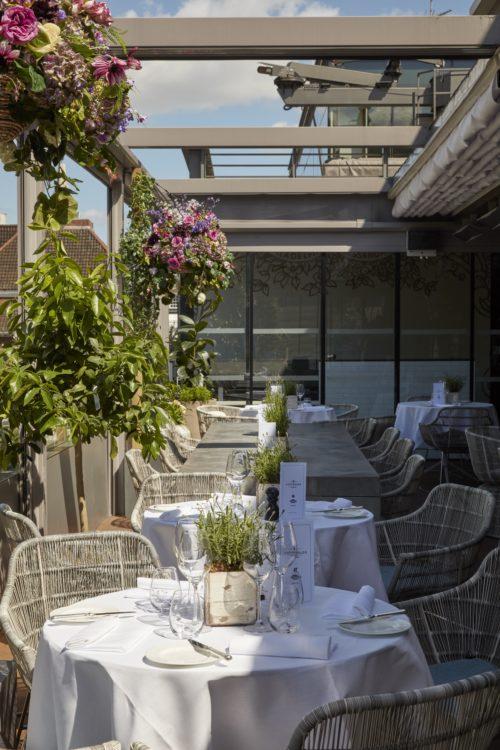 Angler Restaurant, Moorgate, London 3