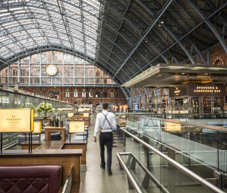Searcy's at St. Pancras, London 3