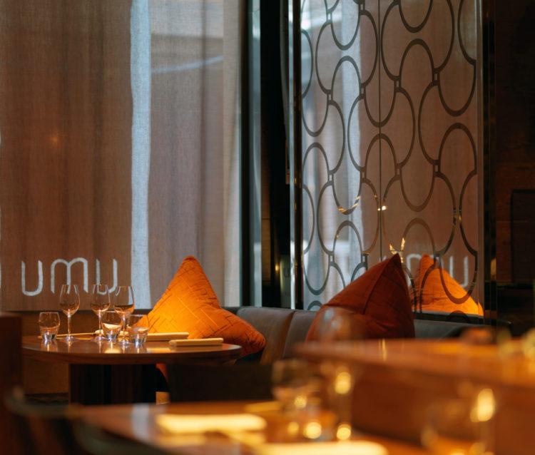 Umu restaurant, Mayfair, London