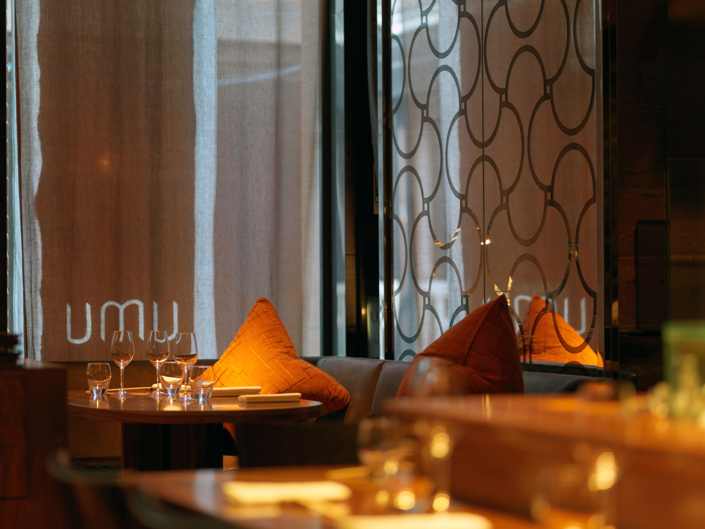 Umu restaurant, Mayfair, London