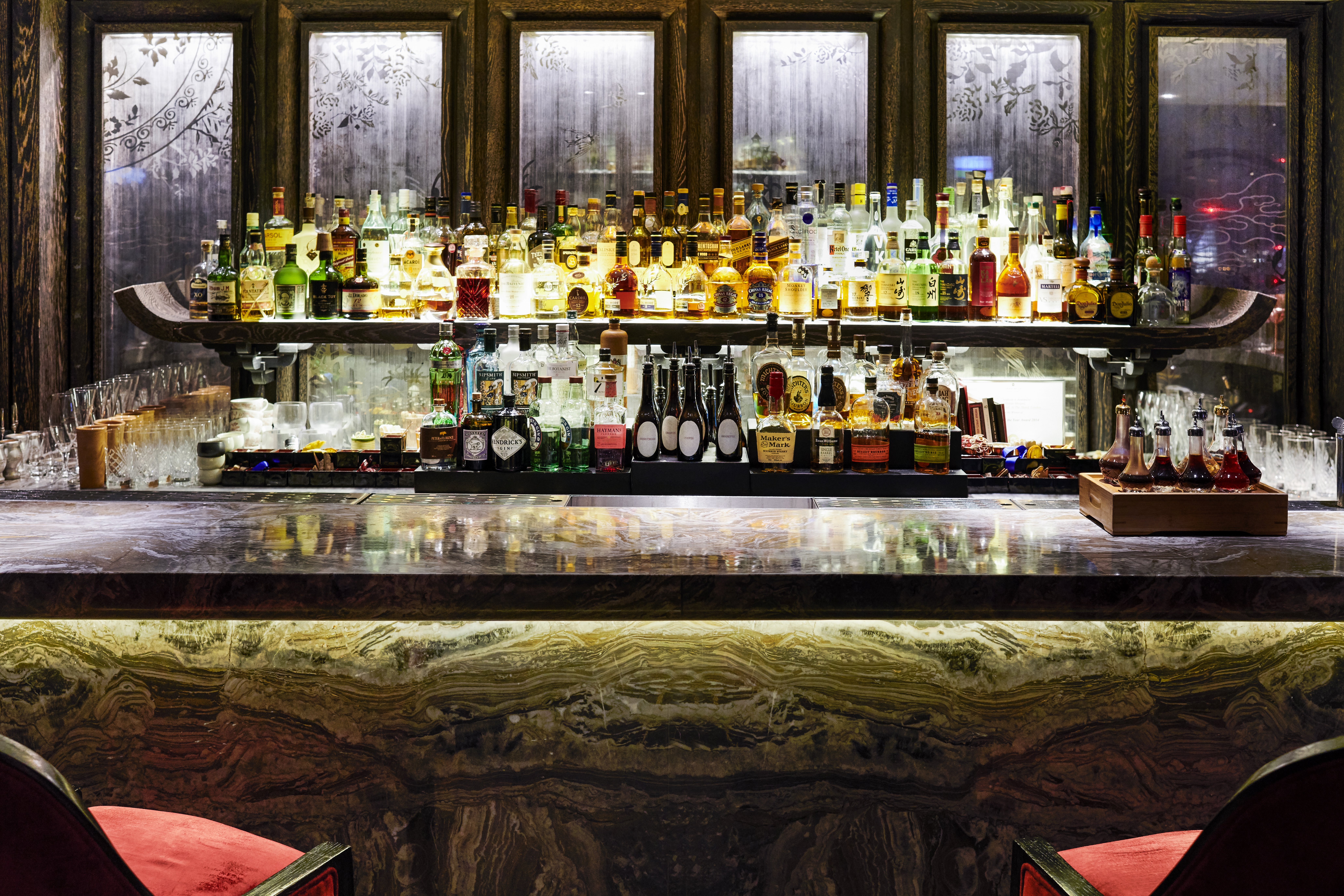 GŌNG Bar, Shangri-La at The Shard, London