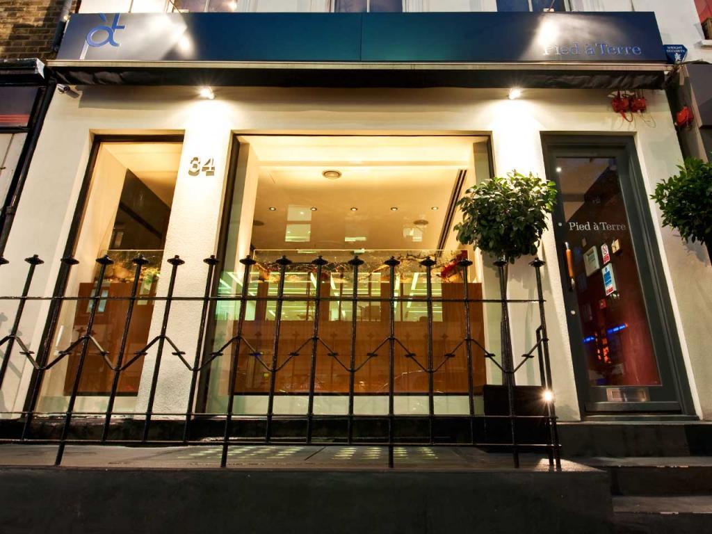 Pied à Terre Restaurant, London