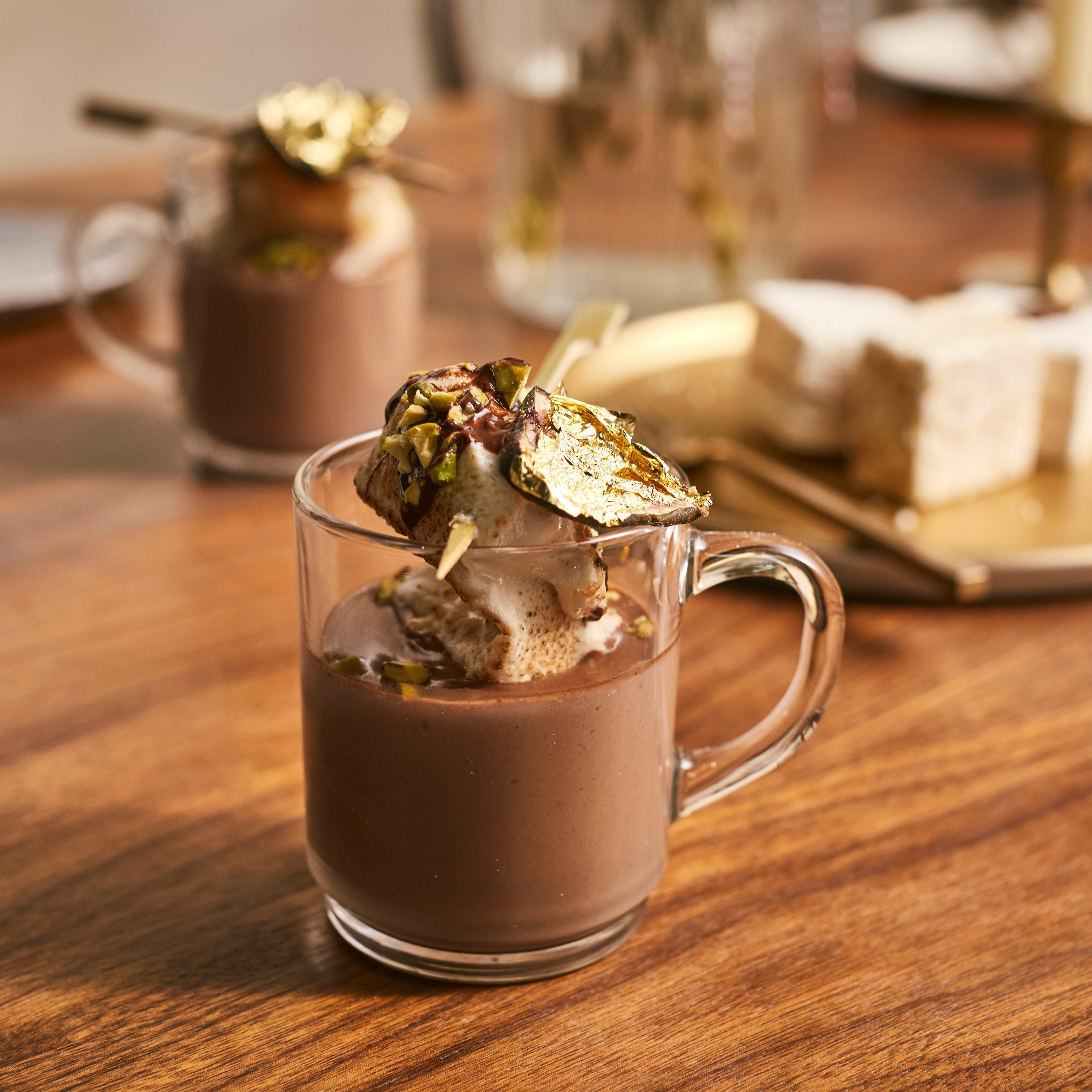 The Marshmallowist's Indulgent Baileys Hot Chocolate