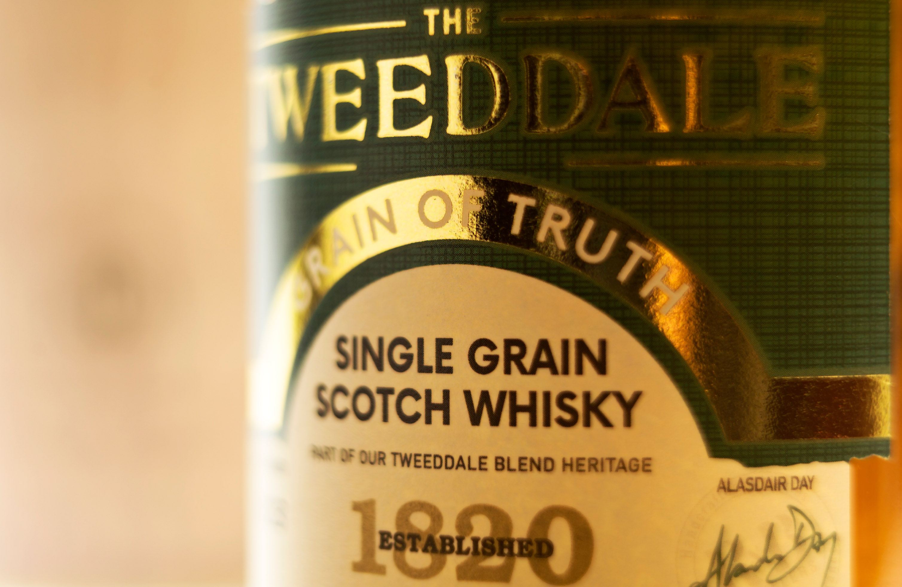 The Grain of Truth - The Tweedale Whisky at Locke & Co 1